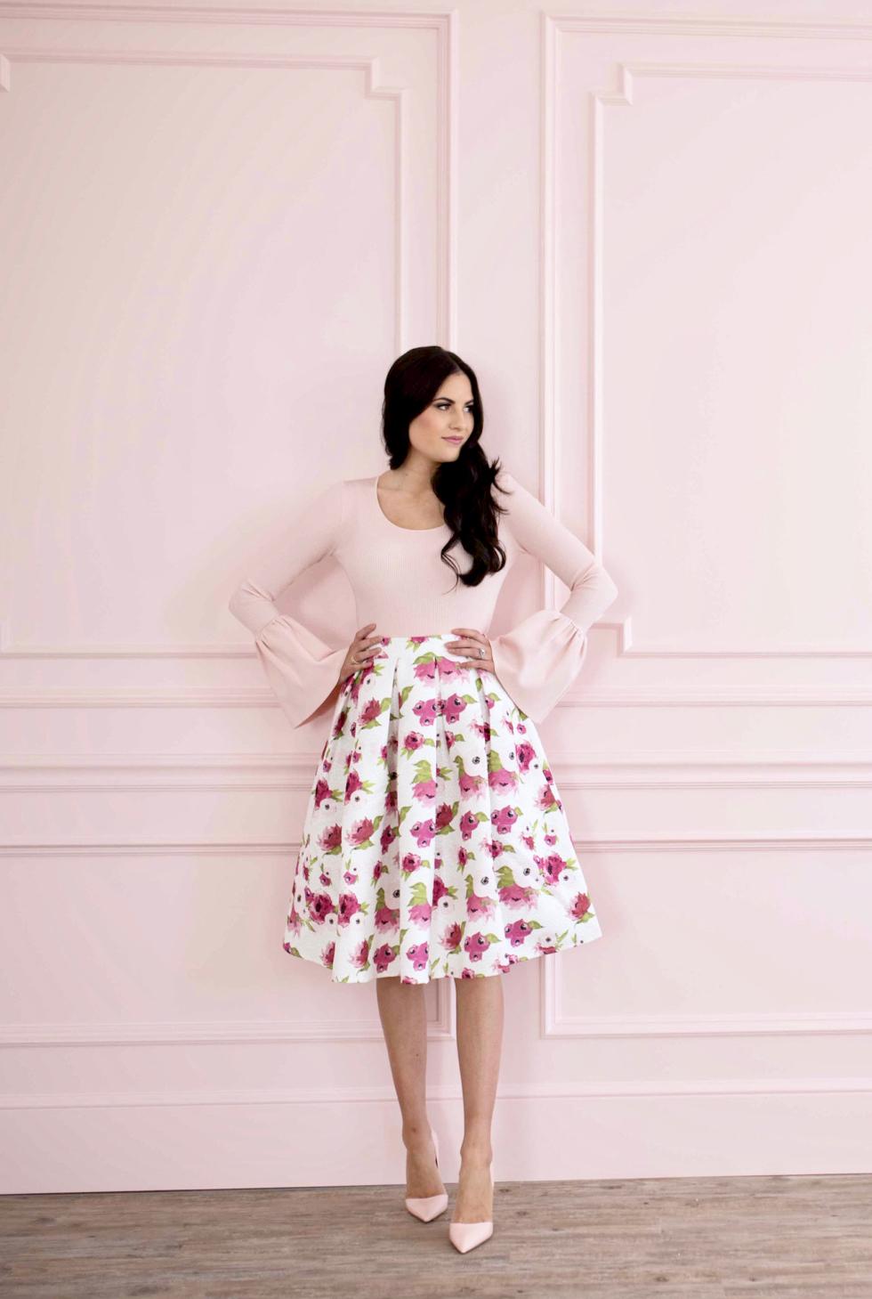 spring-floral-full-skirt - 2