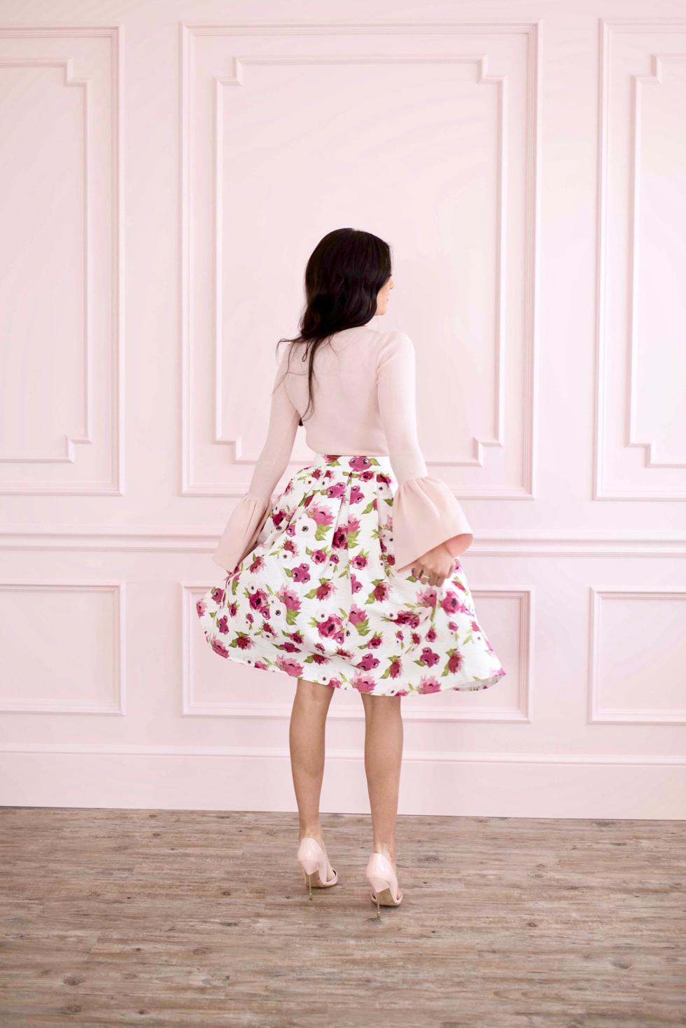 spring-floral-full-skirt - 4