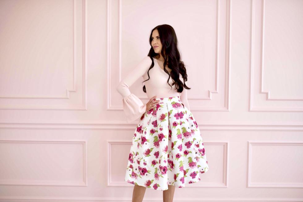 spring-floral-full-skirt - 5