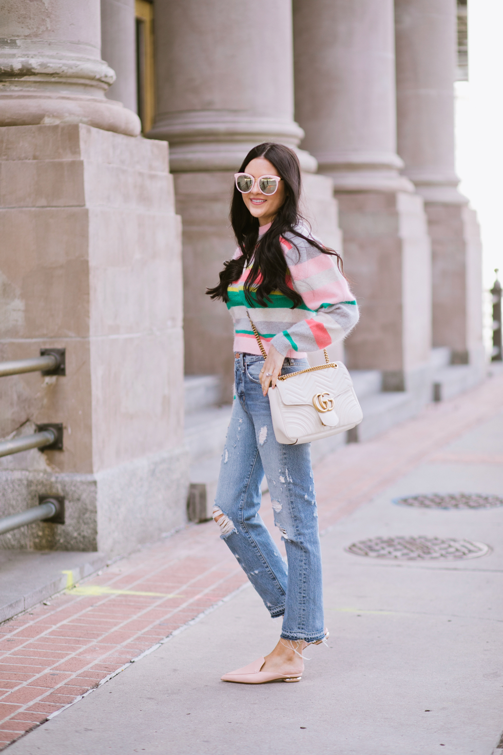 spring-time-outfits-rebecca-taylor-sweater - 4