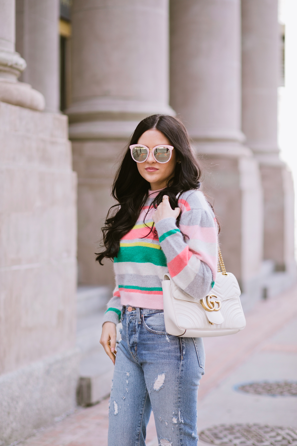 spring-time-outfits-rebecca-taylor-sweater - 5