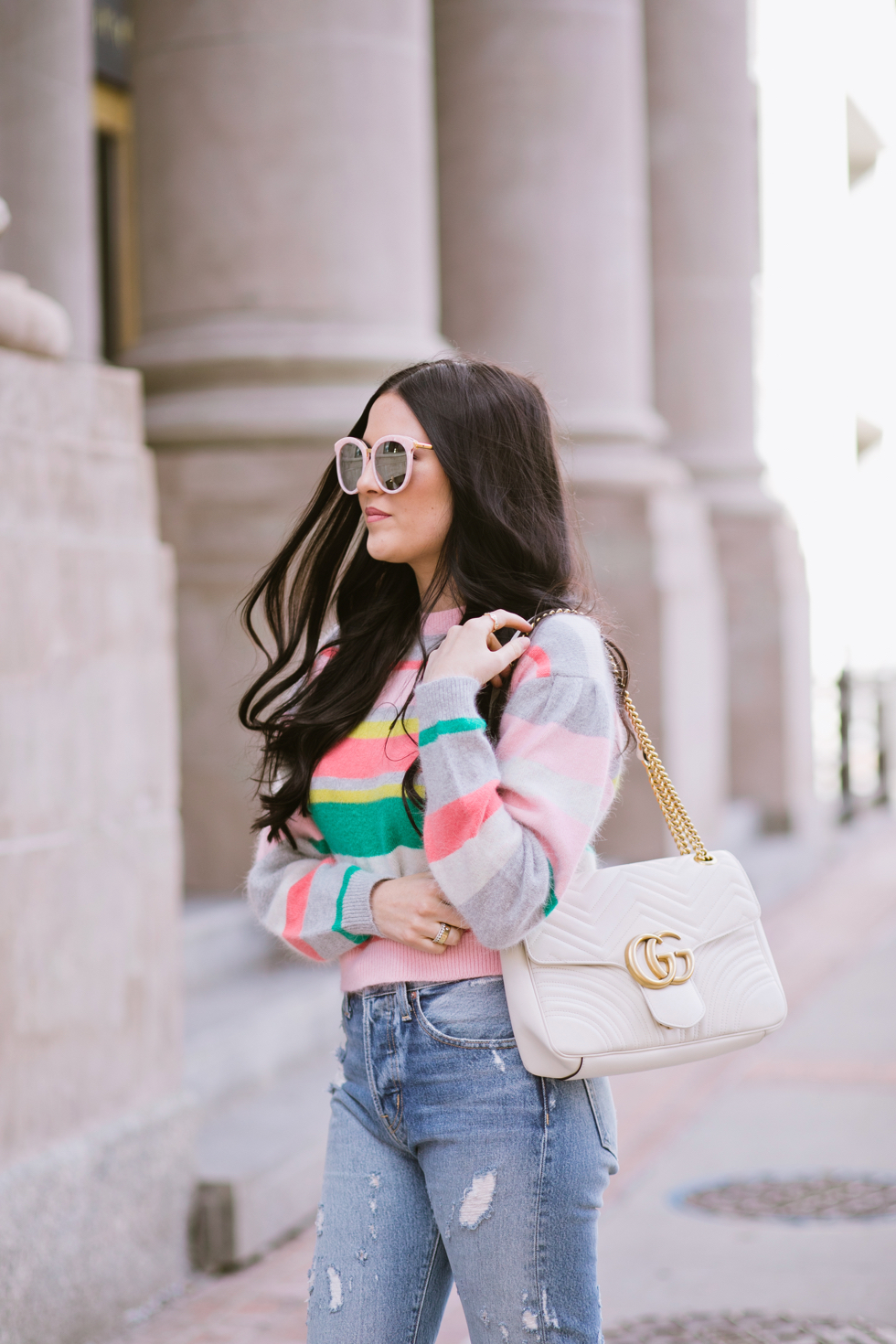 spring-time-outfits-rebecca-taylor-sweater - 6