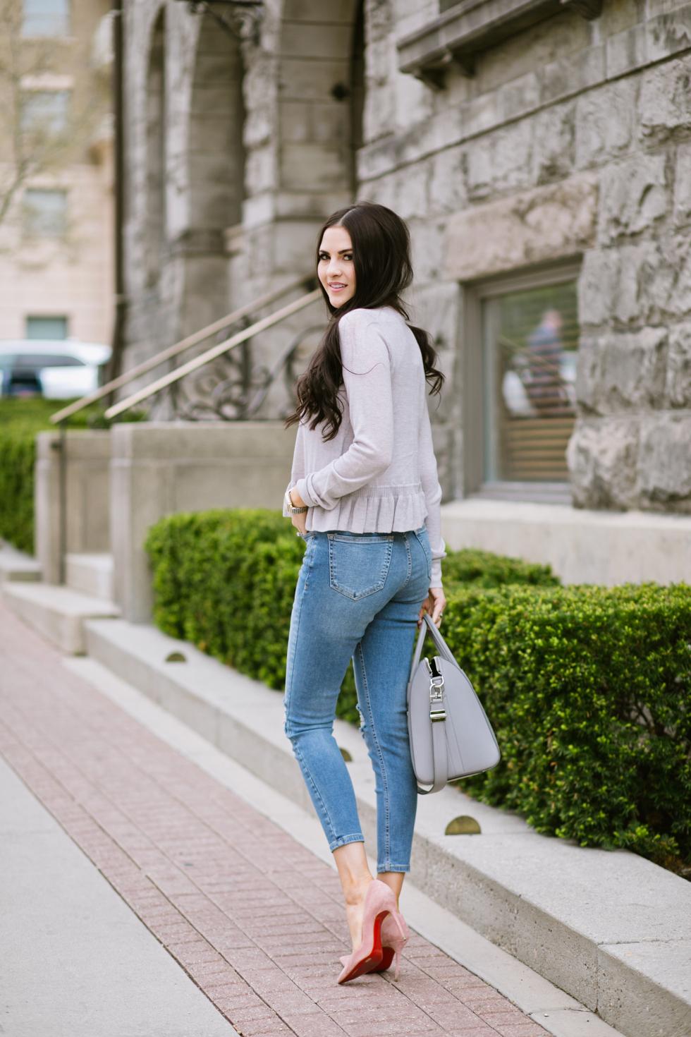 grey-rebecca-taylor-ruffle-sweater-pink-peonies-blogger - 8