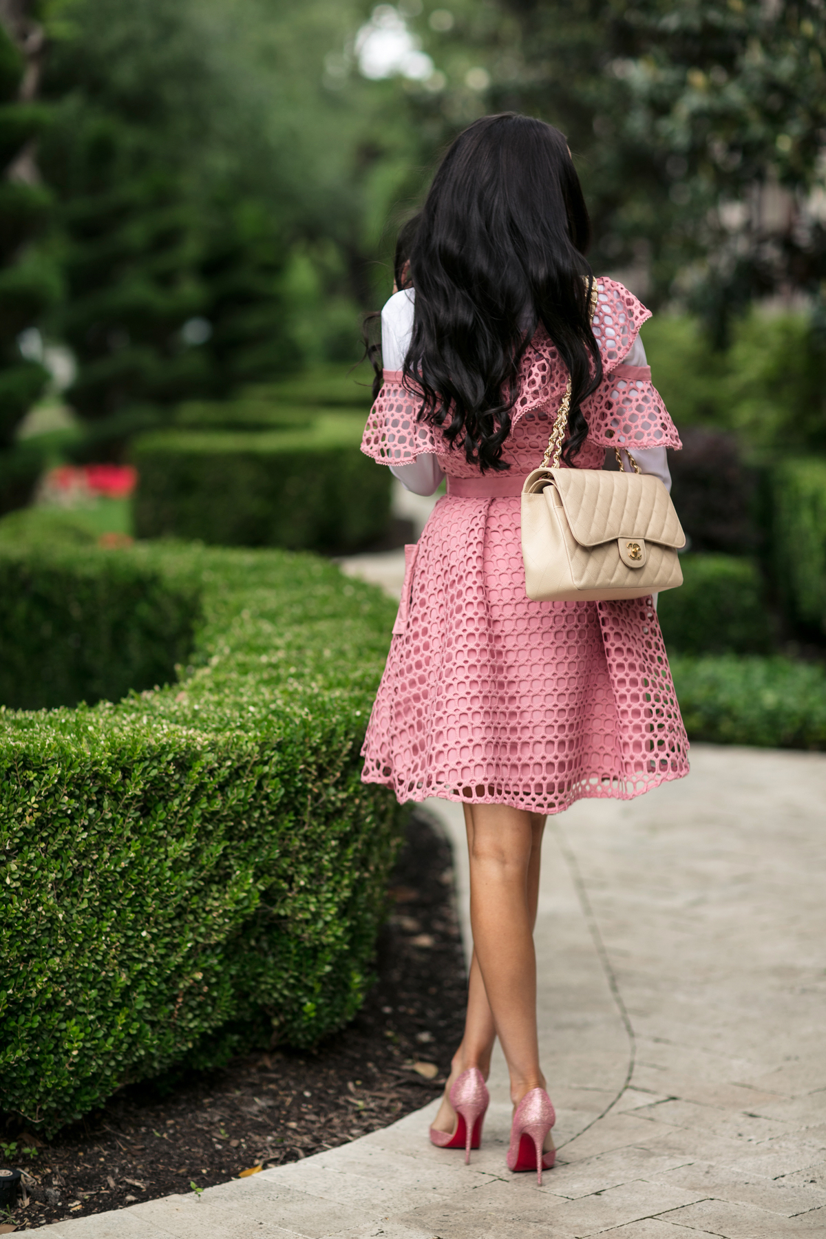 self-portrait-pink-lace-dress - 7