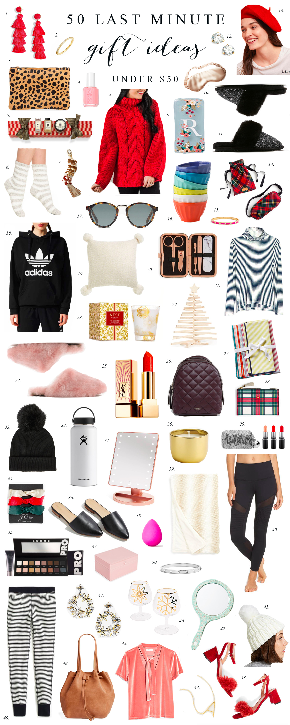 50 Last Minute Christmas Gift Ideas Under 50 Rach Parcell