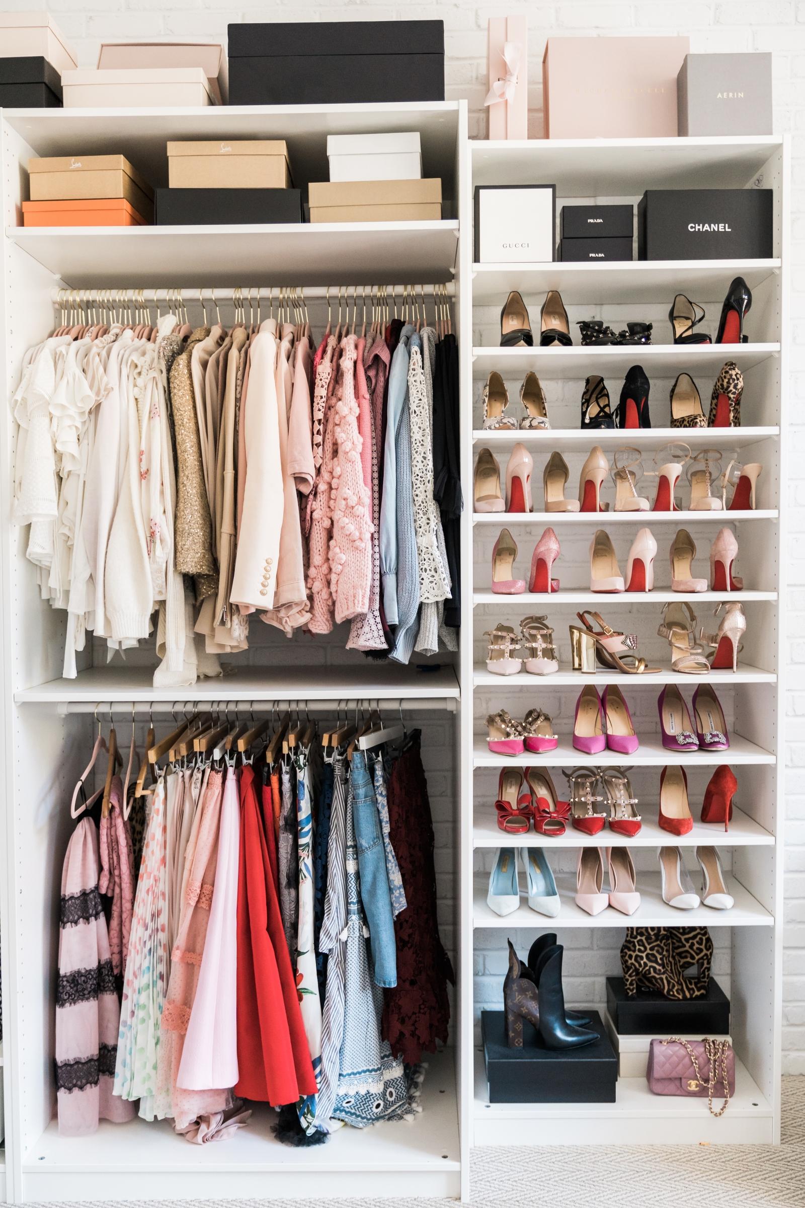 Closet Organization Rach Parcell