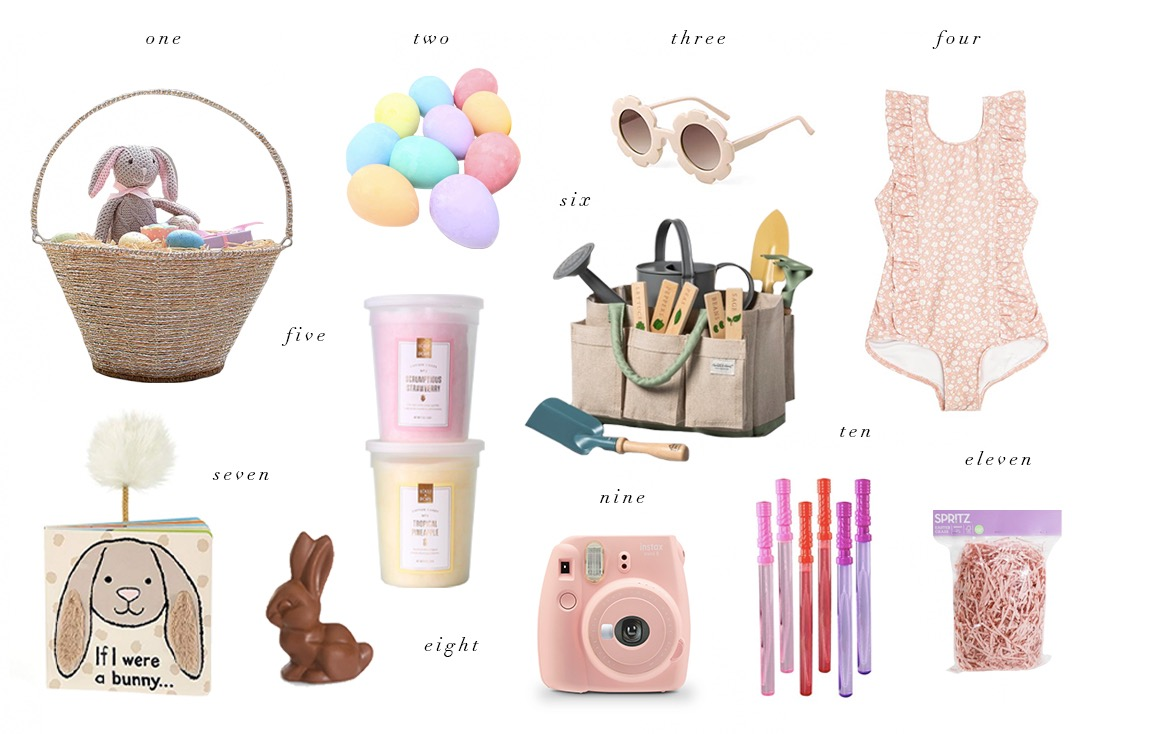 KIDS EASTER BASKET EDIT... - Rach Parcell