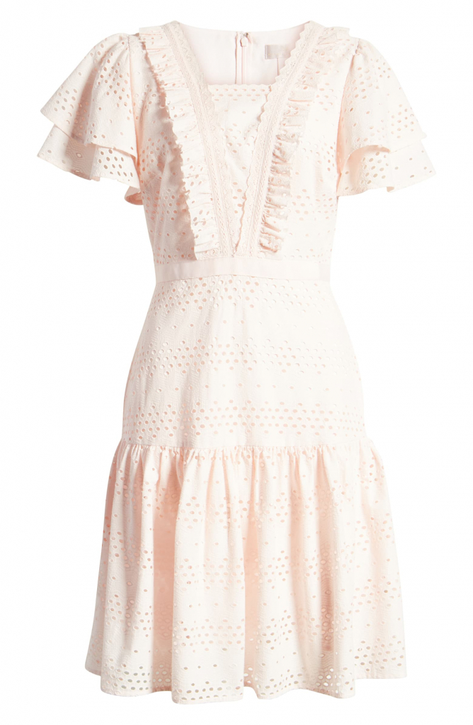 Lace Fit Amp Flare Dress Rach Parcell