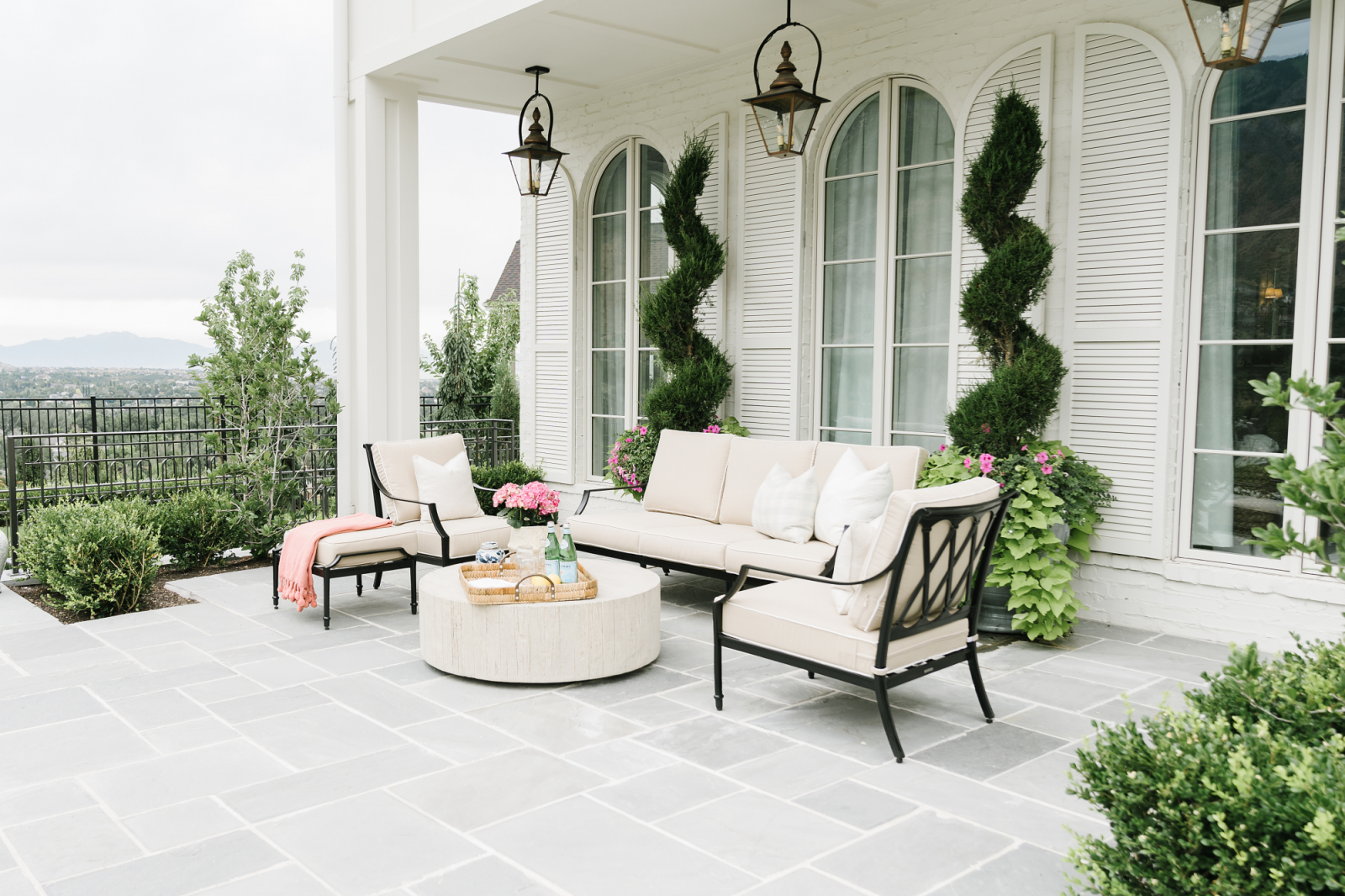 Our Backyard Patio Reveal Rach Parcell