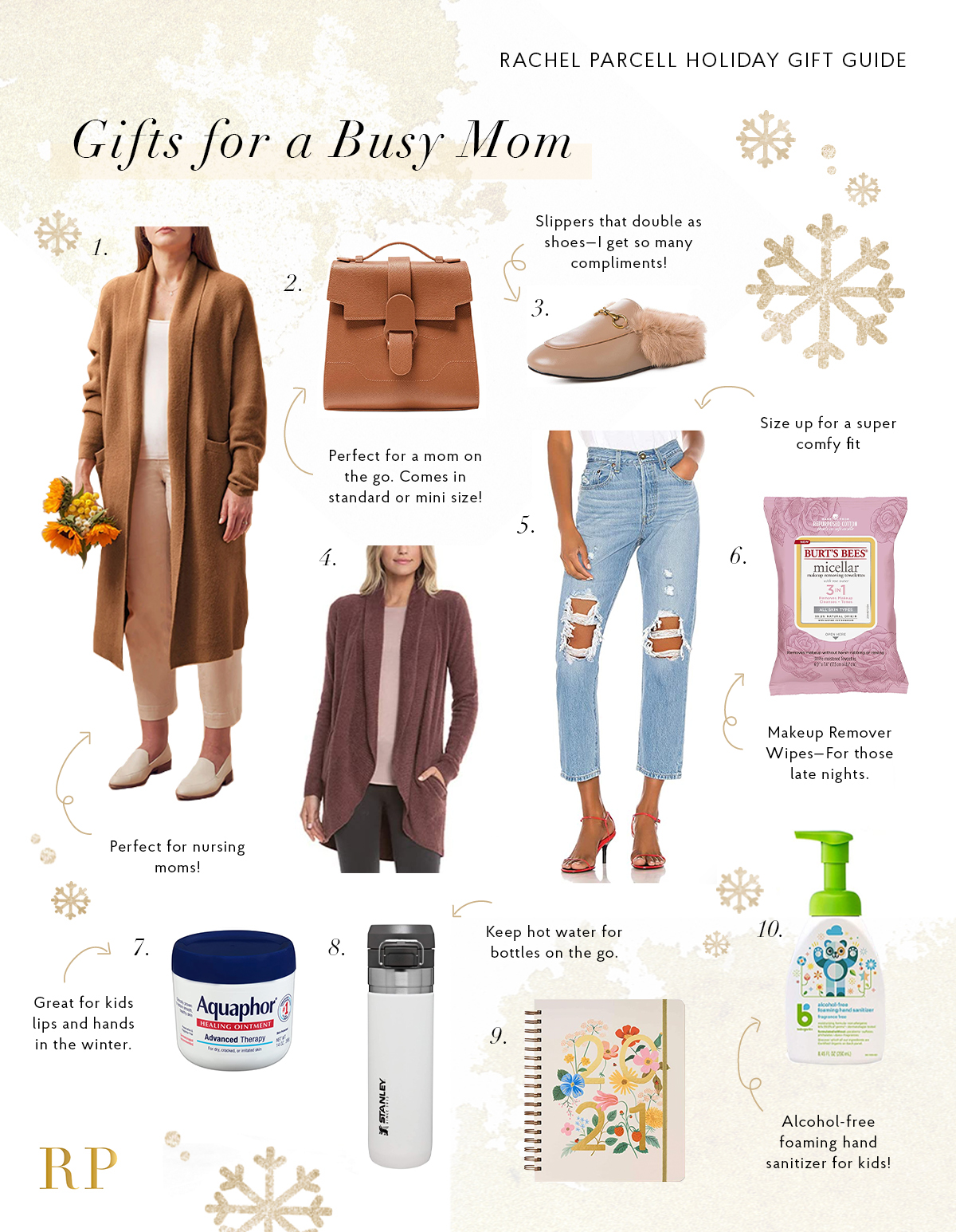 Gift Ideas for a Busy Mom... - Rach Parcell