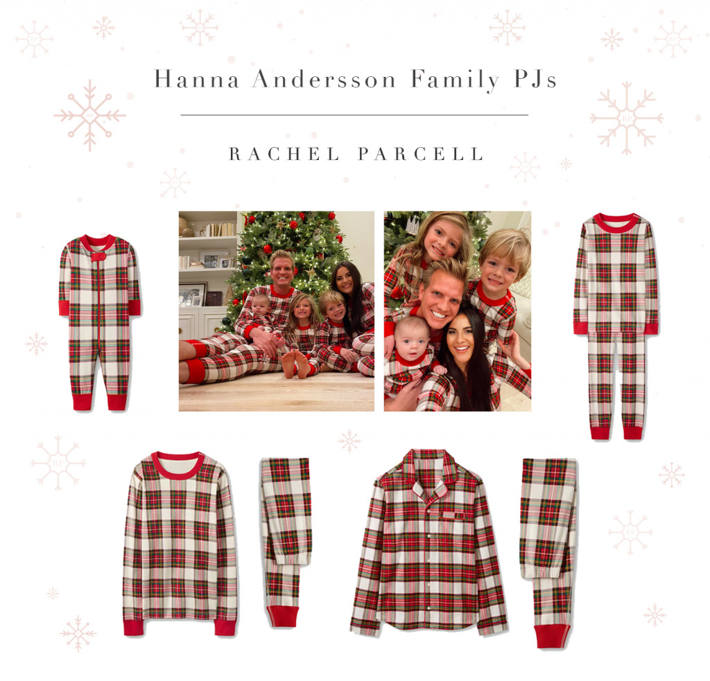Matching Holiday Plaid Pajamas for the Family