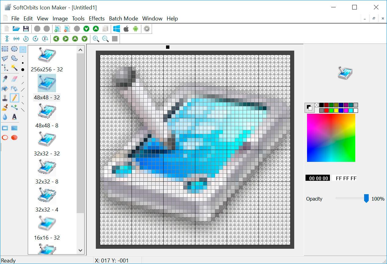 SoftOrbits Icon Maker スクリーンショット