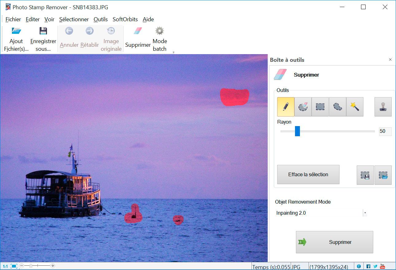 Photo Stamp Remover Captures d'écran