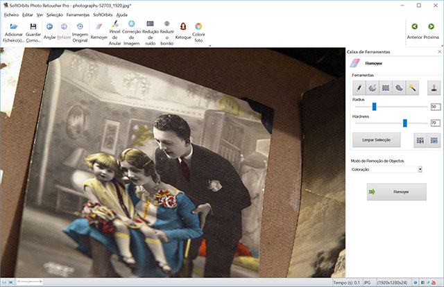 SoftOrbits Photo Retoucher Capturas de tela
