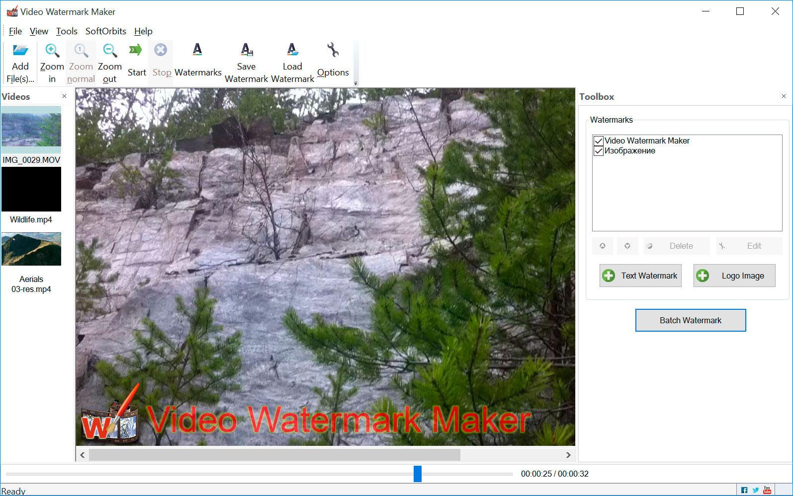 Video Watermark Maker Capturas de tela