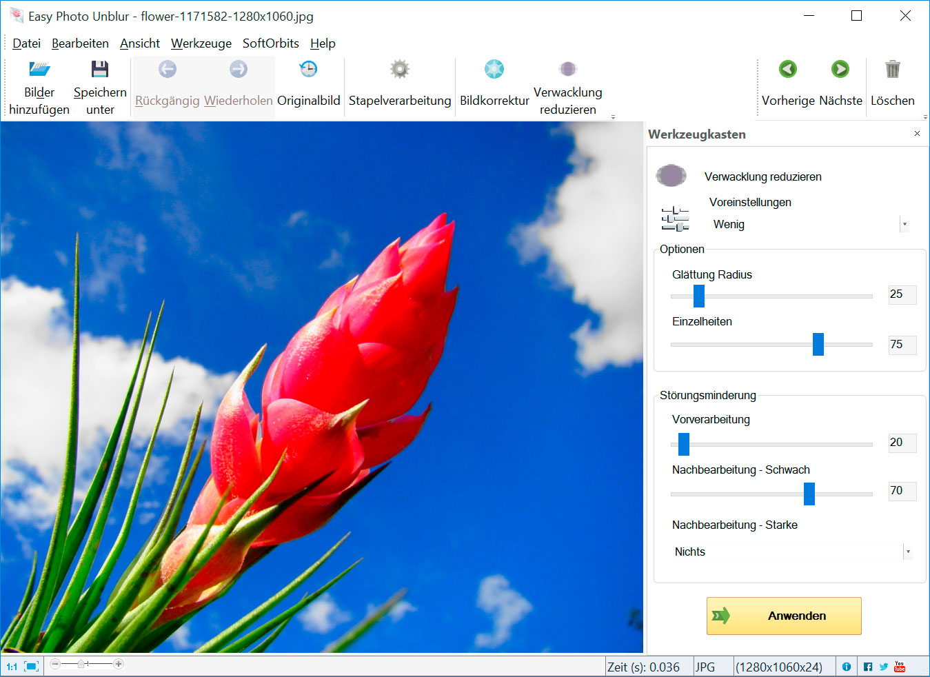 Easy Photo Unblur Screenshots