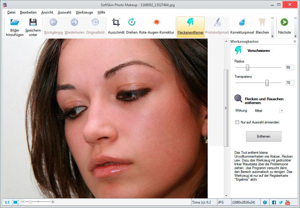 SoftSkin Photo Makeup Screenshots