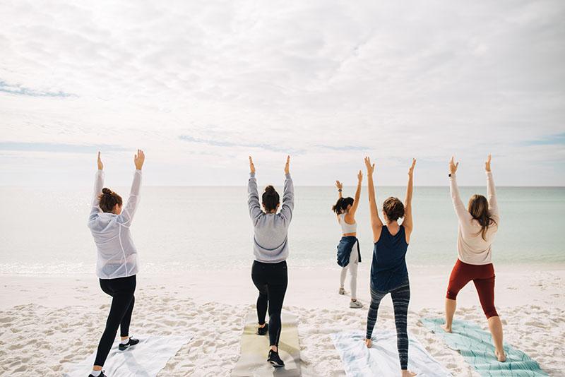Where to do Yoga on the Beach