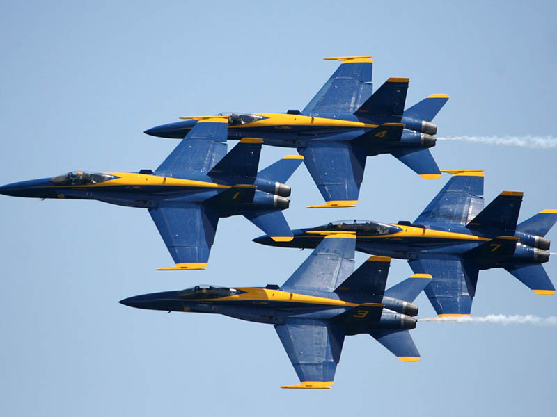 The Blue Angels are Back at the Beach