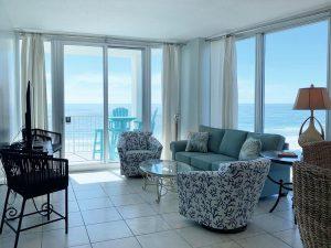 Island Towers #603 Living Room