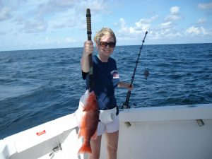 Snapper Fishing in Coastal Alabama