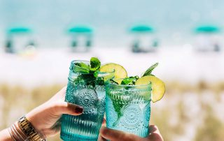 Frozen Mint and Lime Mojito