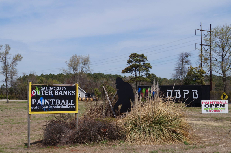 Photo taken by Outer Banks Paintball