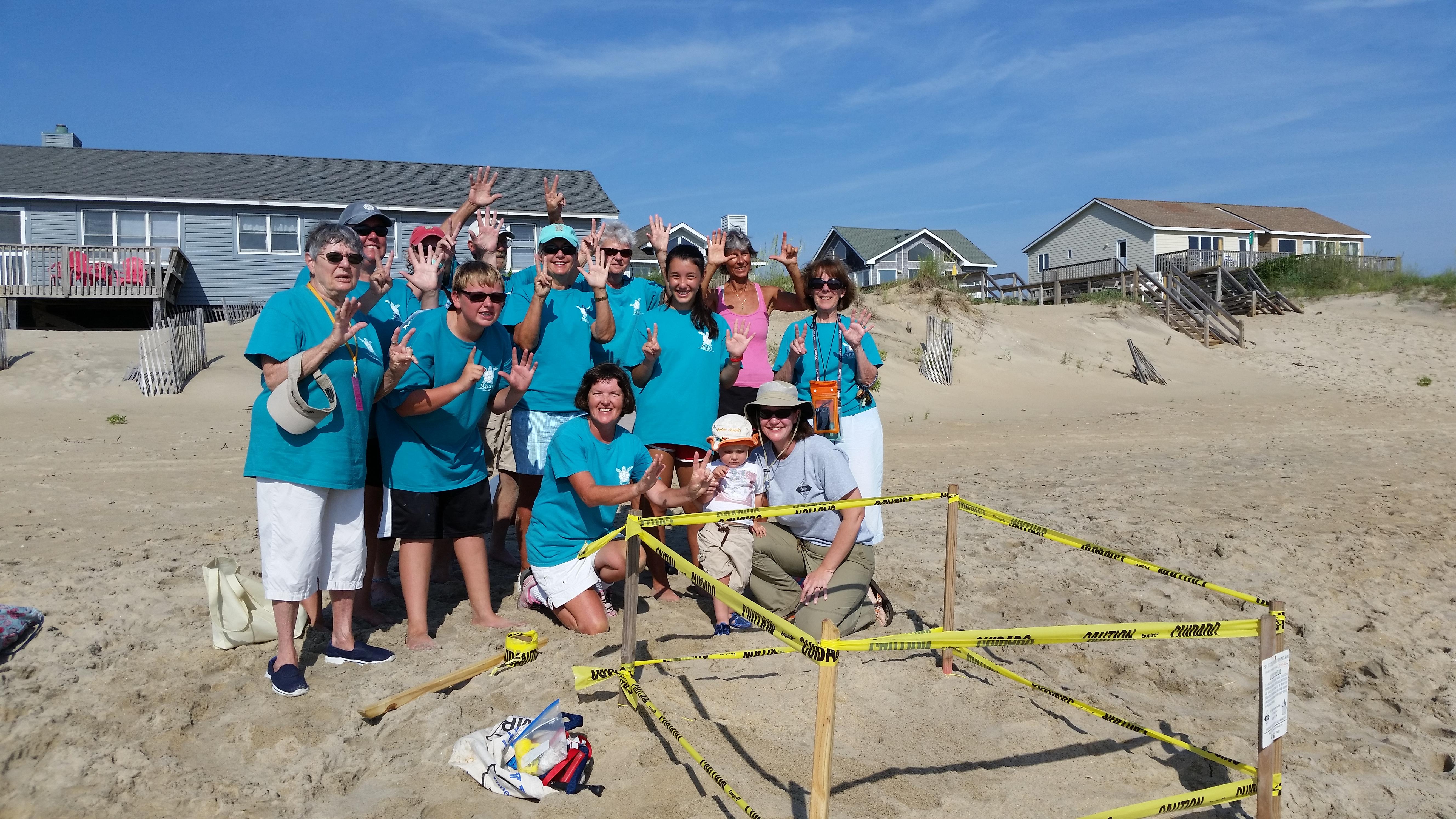 NEST sea turtle nest response team