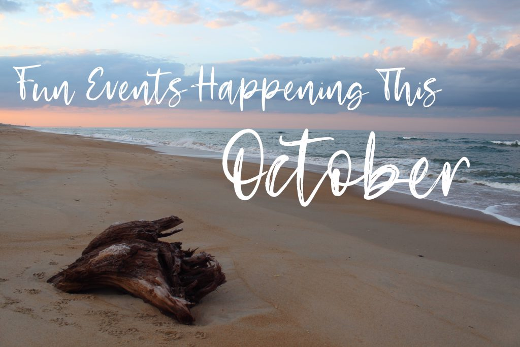 Fun Events Happening This October