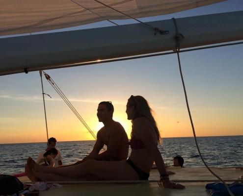 Catamaran Cruise at Sunset