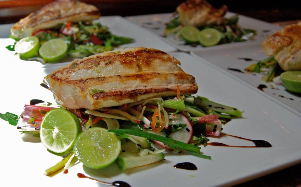 mahi mahi from private chef tamarindo costa rica