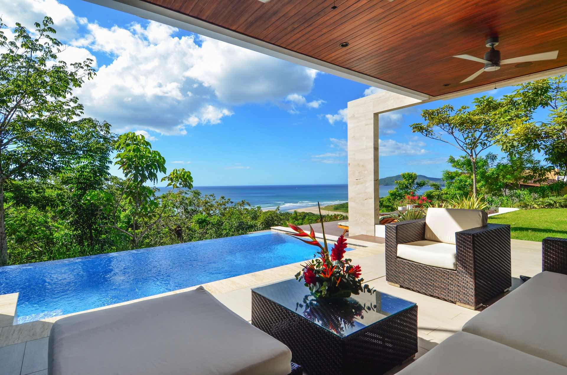 Lomas del Mar has one of the best pools in Costa Rica