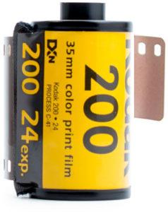Kodak Gold 200 35mm film for beginners