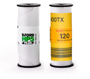 Medium format Kodak Tri-X 400 vs Ilford HP5 400