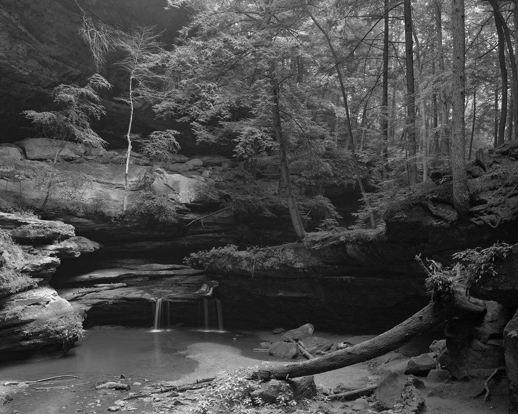 """Trickle at Middle Falls"" © Mat Marrash"