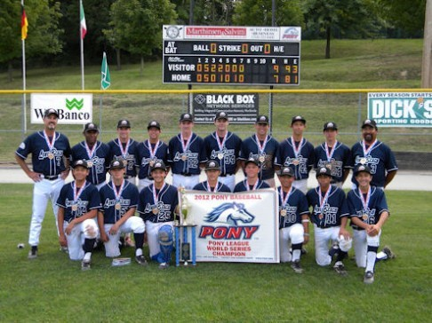 Top 10 Long Beach Youth Sports Teams Of The Decade 2012 Pony Baseball World Champions The562 Org
