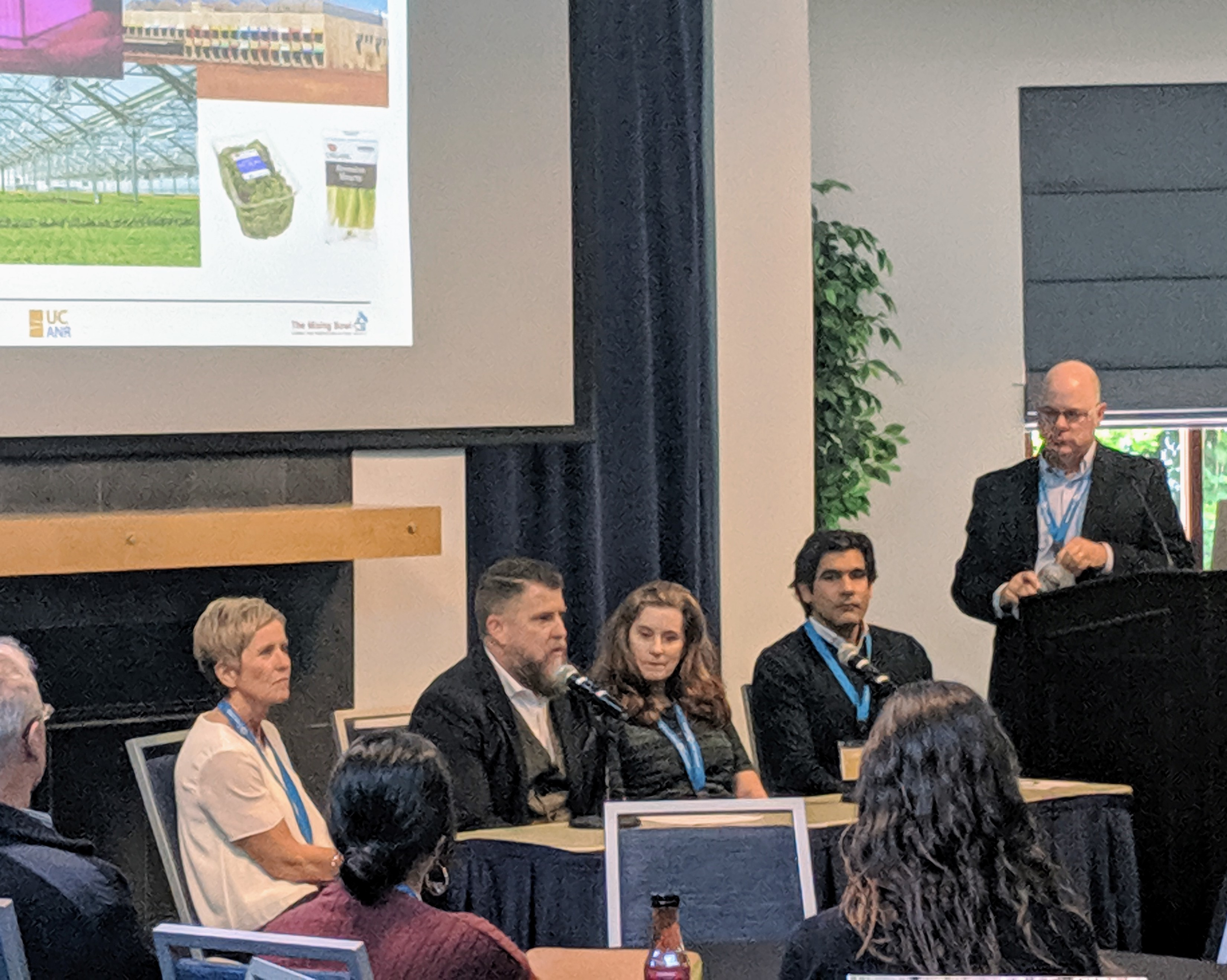 Innovation Institute for Food and Health 2019 Innovator Summit Hosts a Lively Panel Discussion on Indoor Agriculture - The Vine