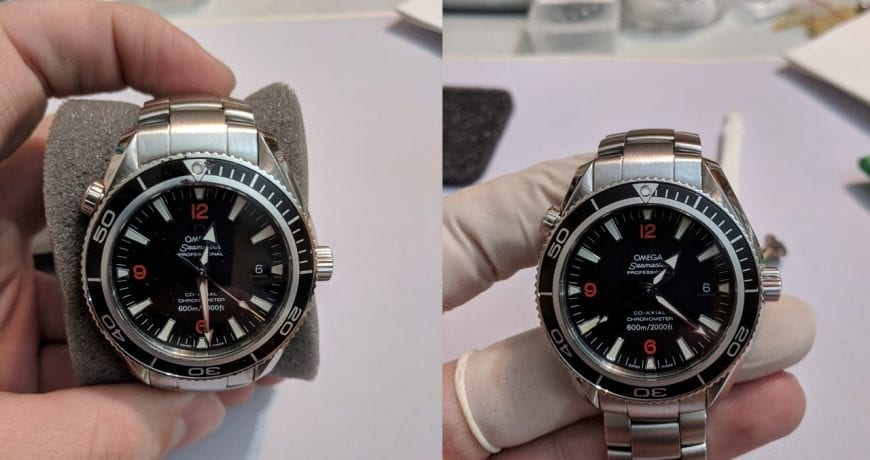 How to Replace OMEGA Seamaster Bezel Insert | Value Your Watch