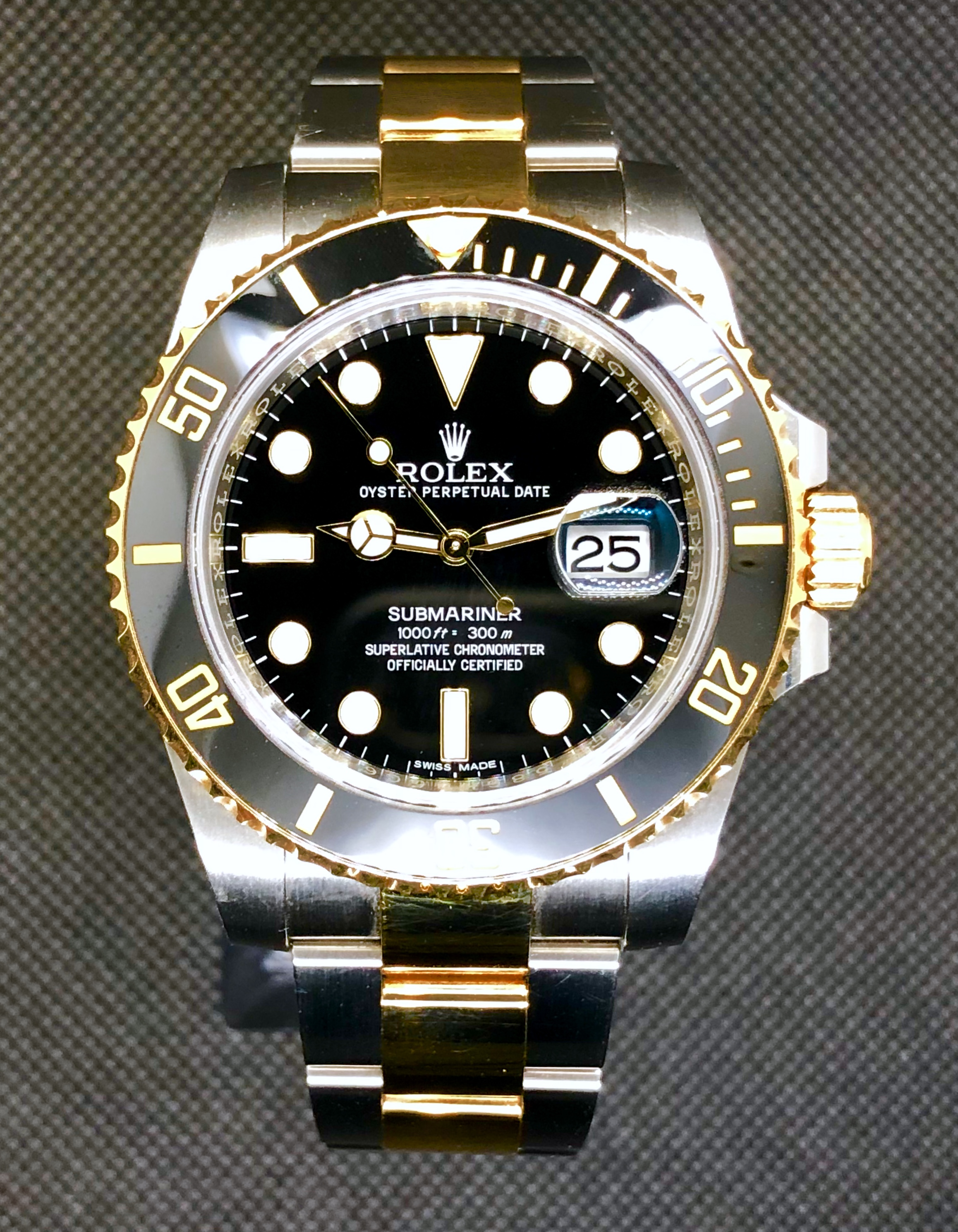 Rolex Submariner Date Two Tone 116613LN