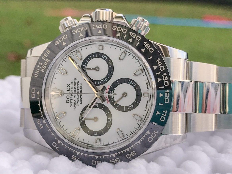 rolex daytona, panda dial, value your watch