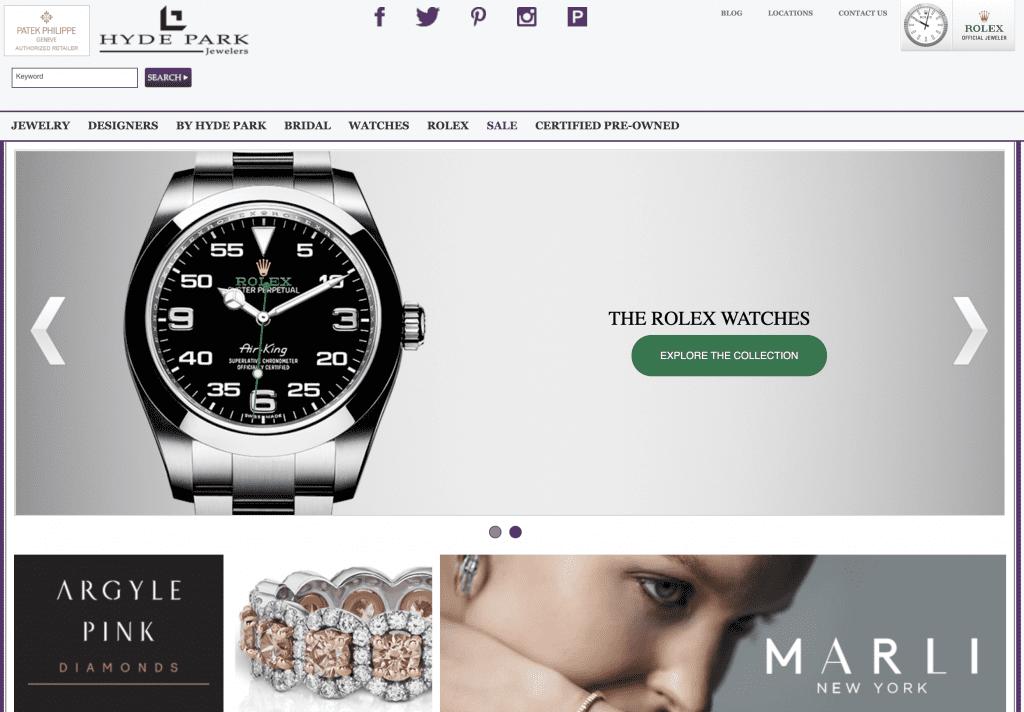 Rolex retailers