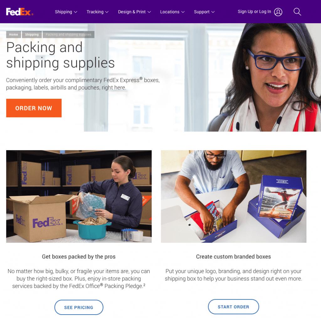 FedEx, Free Supplies,