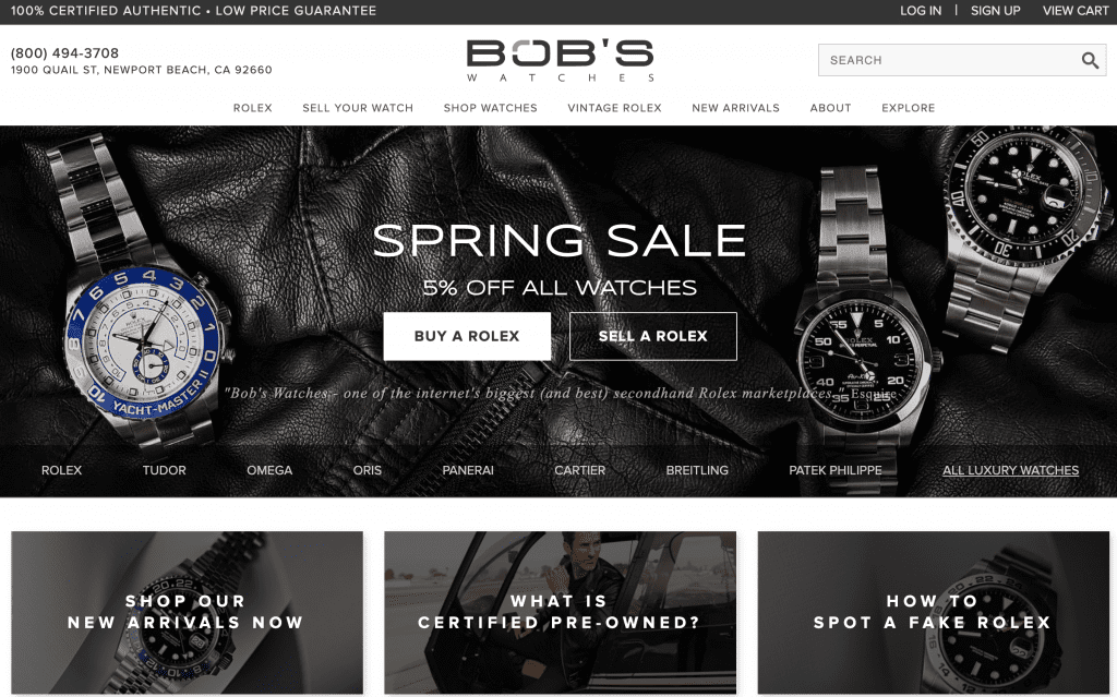 watches for sale, rolex watches, bob's watches