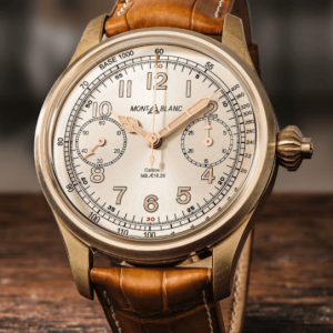 Montblanc limited edition watch
